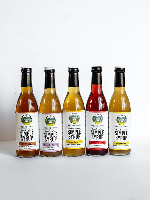 Simple Syrup 5-Pack