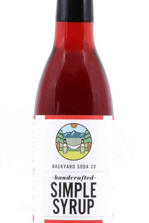 True Grenadine Simple Syrup