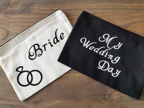 Bridal Canvas make-up Bag