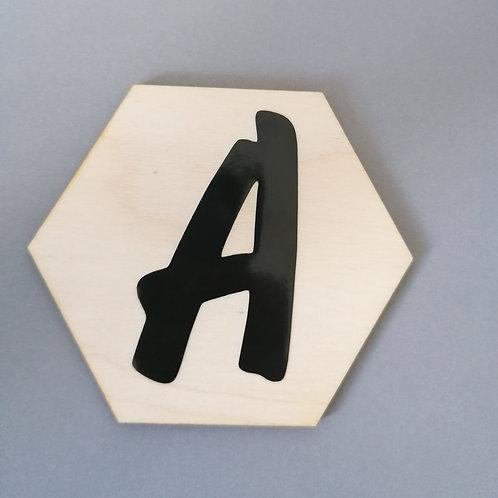 Wooden Letter place mats
