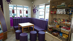 Splatz Ice Cream Parlour - Carsington Water