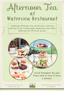 Afternoon Tea at Waterview Restaurant