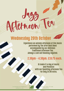 Jazz Afternoon Tea