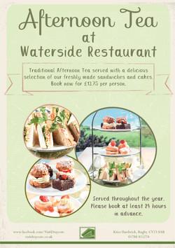 Afternoon Tea at Waterside Restaurant