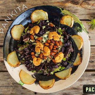 Pacifico Bar utiliza vajilla Ortiz para servir sus platos.