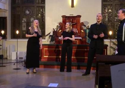 Akustinen joulukonsertti, Lähetyskirkko, joulukuu 2018