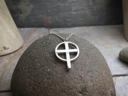 """Eternal Cross """"Original"""" solid Sterling Silver"""