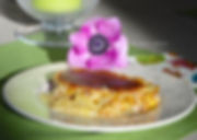 gratin d'ananas et poires caramélisées