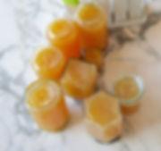 la confiture de poire à la vanille