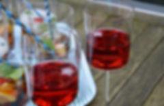 l'eau infusée à l'ibiscus