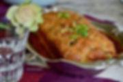 le cake salé de Denise recette du site culinaire de Chantal André lesmenusplaisir.com  onglet aperitif tapas et buffet