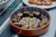 le thon cru mariné de Séverine