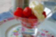 fraises chantilly
