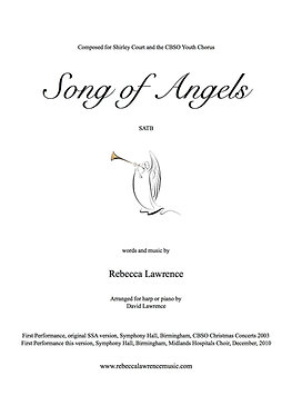 Song of Angels SATB