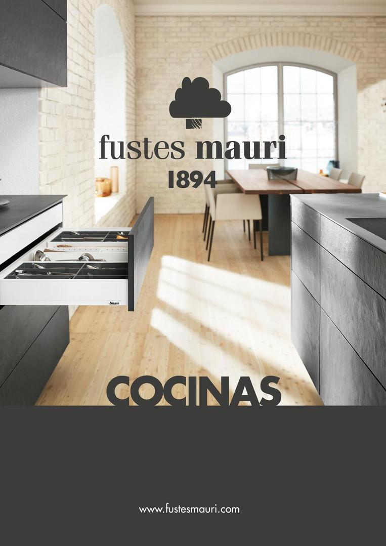 CATÁLOGO COCINAS FUSTES MAURI