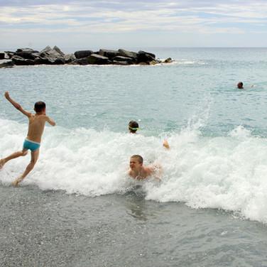 allenamento in acque libere