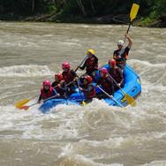 Rafting con INDOMITA
