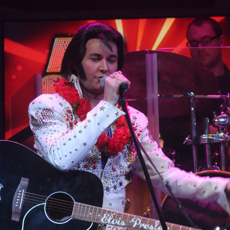 Elvis Tribute by Travis Allen