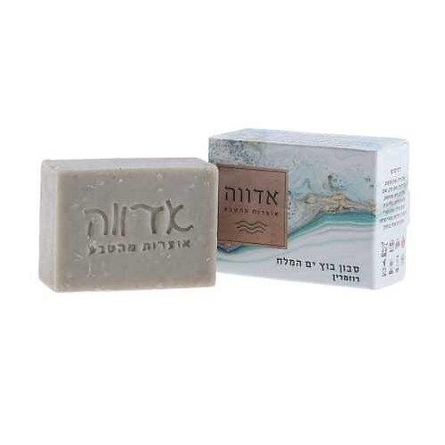 סבון טיפולי - סבון בוץ ים המלח רוזמרין - אדווה