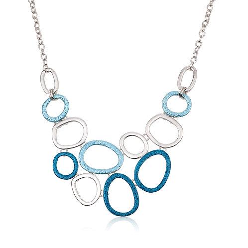שרשרת מעגלים מחוברים כחול