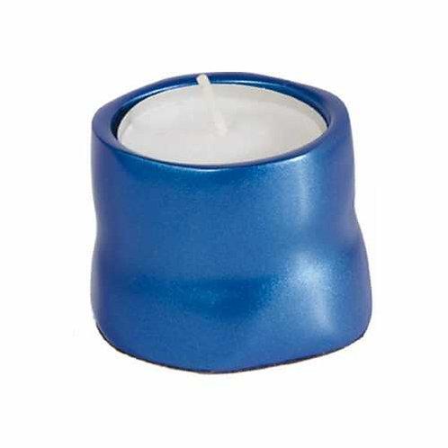 פמוט טי לייט אלומיניום כחול