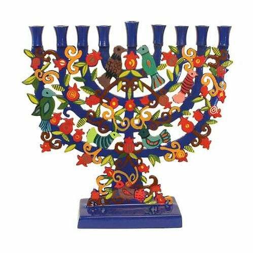 חנוכיה - חיתוך לייזר - ירושלים