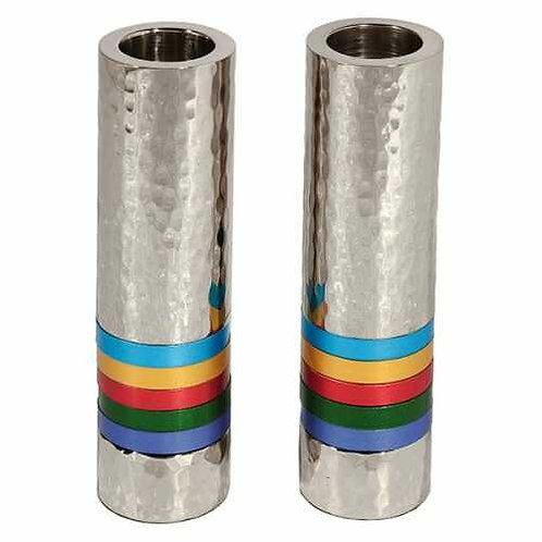פמוטים גליל - 5 טבעות צבעוני