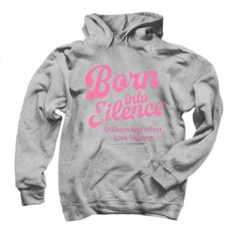Born Into Silence Pullover Hoodie
