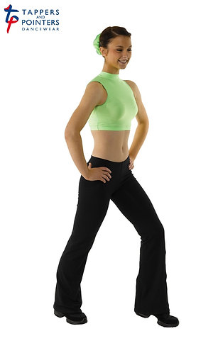 Hipster Jazz Pants In Cotton Lycra