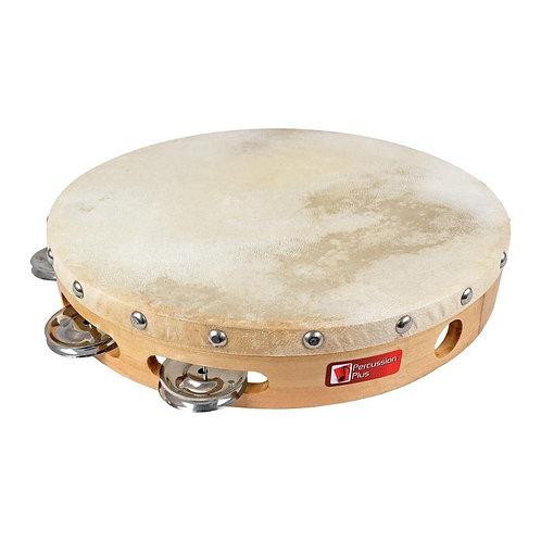 """Woodshell tambourine 10"""""""