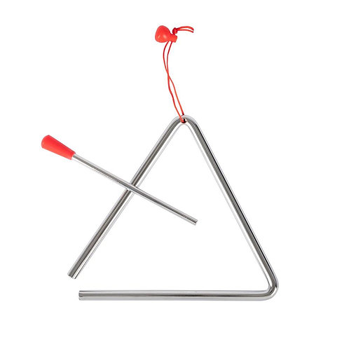 6 inch triangle with holder and beater