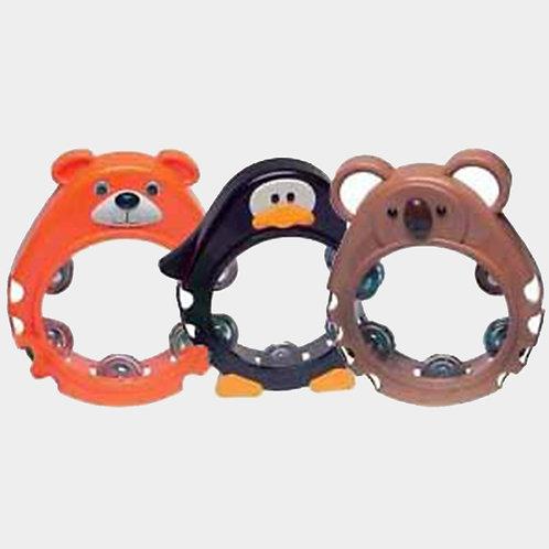 Bambina animal tambourines