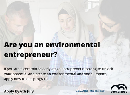 Wanted: Environmental Entrepreneur in Jordan!