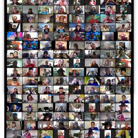 131 Bridgebuilders re-unite virtually