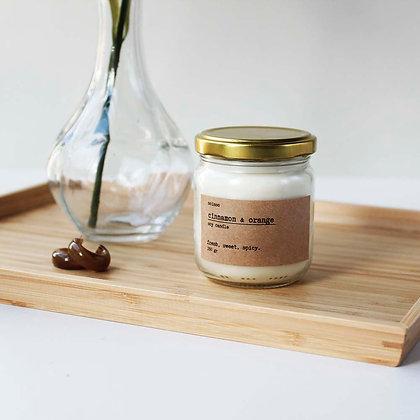 Tarçın & Portakal Soya Mumu Mini
