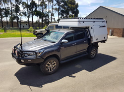 2017 hilux with slide on