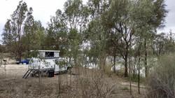 Slide on camper