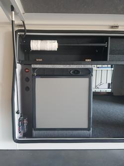 Engel fridge set up