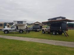 Slide on camper show