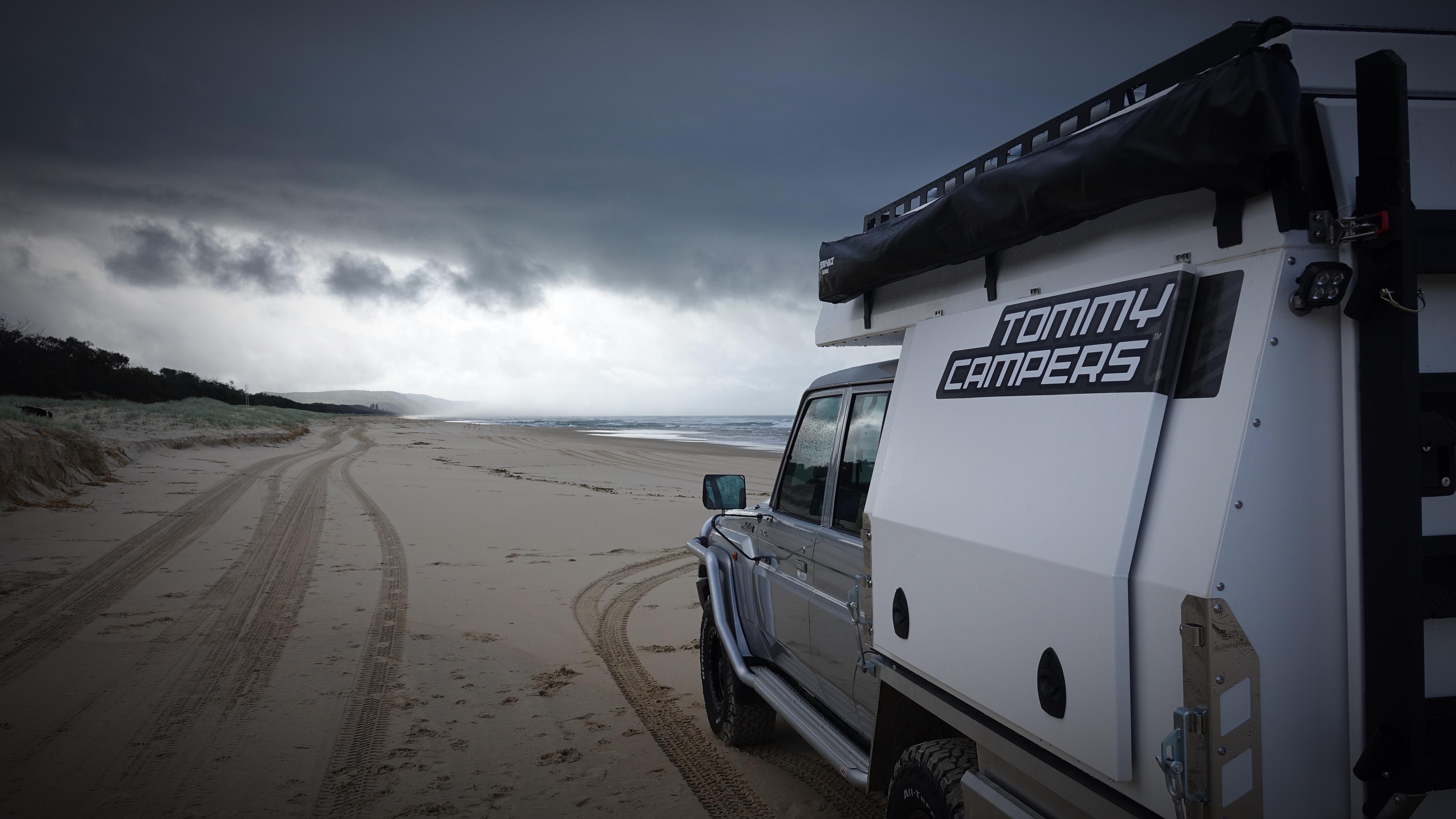 Tommy camper Fraser Island