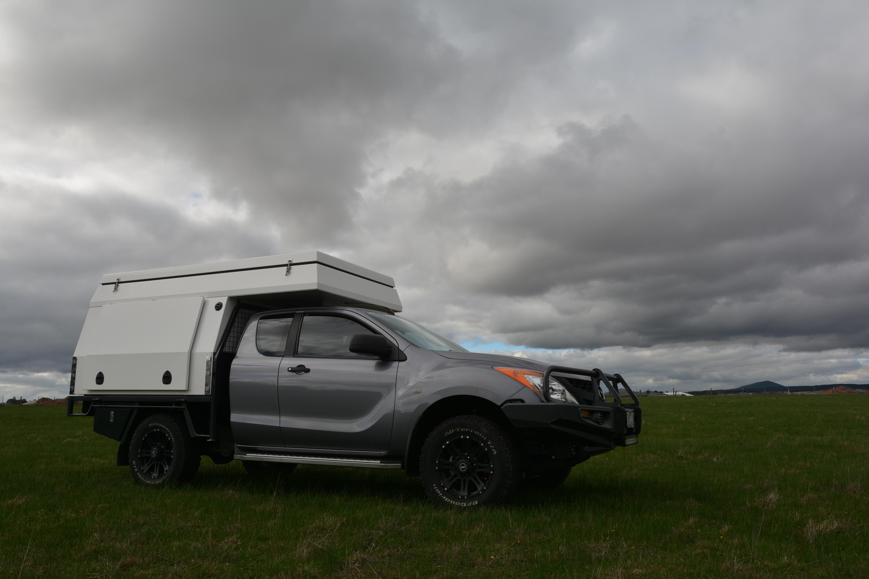 space cab slide on camper