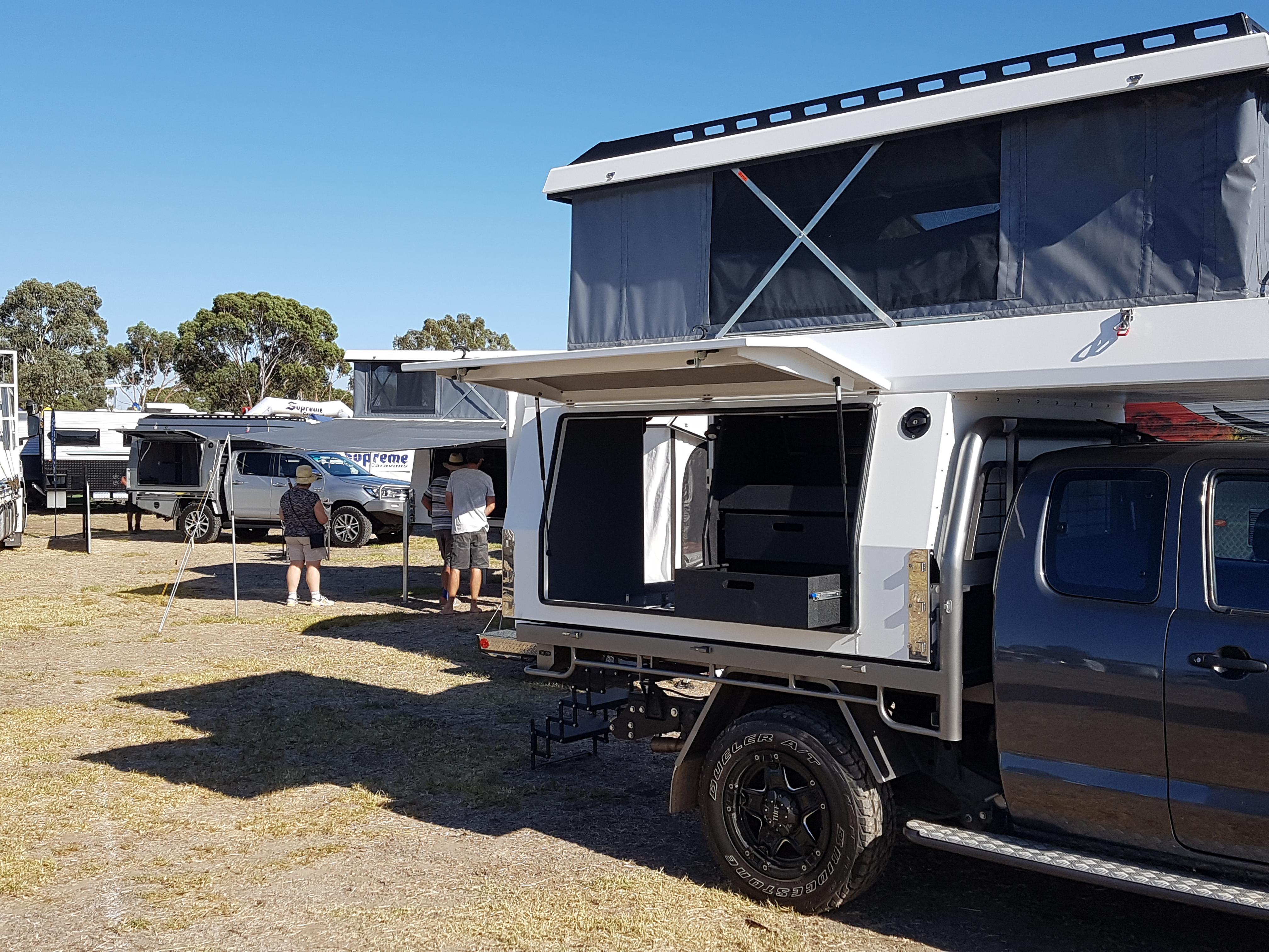 S6 slide on camper