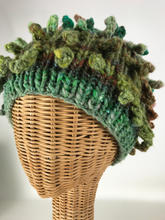 Knit Green Crazy Hat