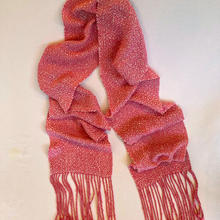 Deep pink scarf