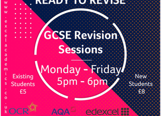 GCSE Weekday Revision Sessions