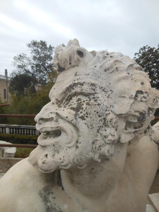 Amenissimi Giardini, Fontana del Tritone, Palazzo del Principe, Genova