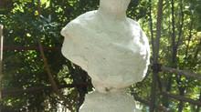 Monumento a Michele Canzio, Villa Pallavicini, Genova Pegli