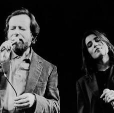 Edoardo e Paola Turci - Finale Disco per l'Estate - 1992 - Foto di scena