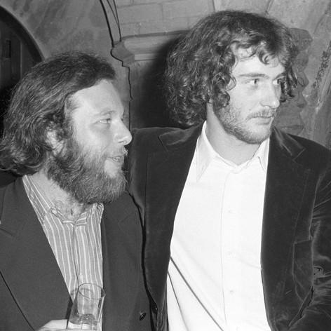 Edoardo e Francesco De Gregori - Presentazione Alice non lo sa - 1973 - Foto Peppe D'Arvia