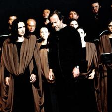 """Teatro Biondo Palermo """"La buona novella"""" con il Gruppo Polifonico Del Balzo - 2006 - Foto di scena"""